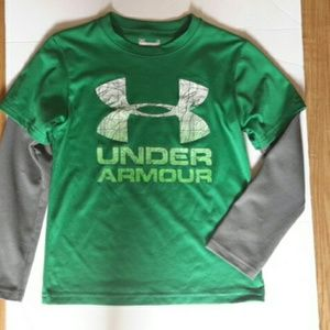 Under armour long sleeves size 6